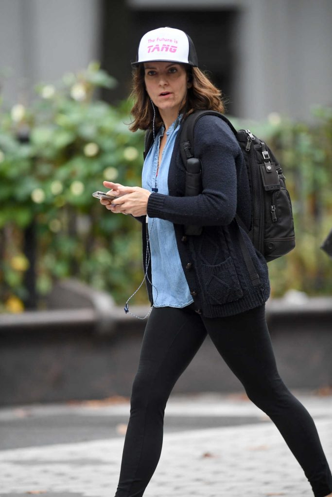 Tina Fey Was Seen Out in New York City 10/09/2017-4