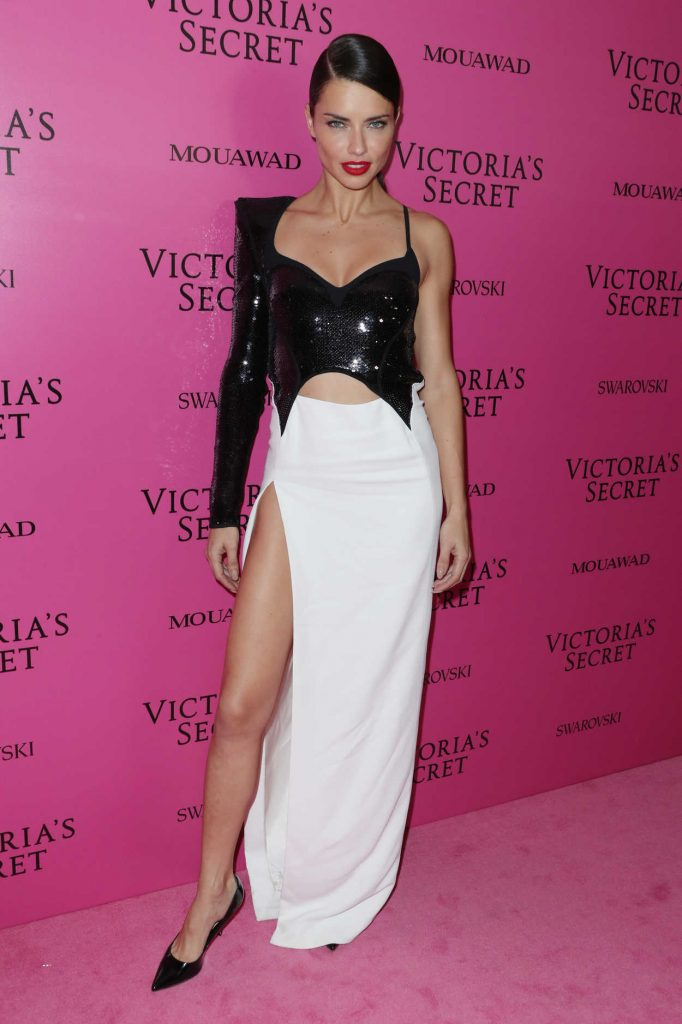 Adriana Lima at 2017 Victoria's Secret Fashion Show After Party in Shanghai 11/20/2017-1