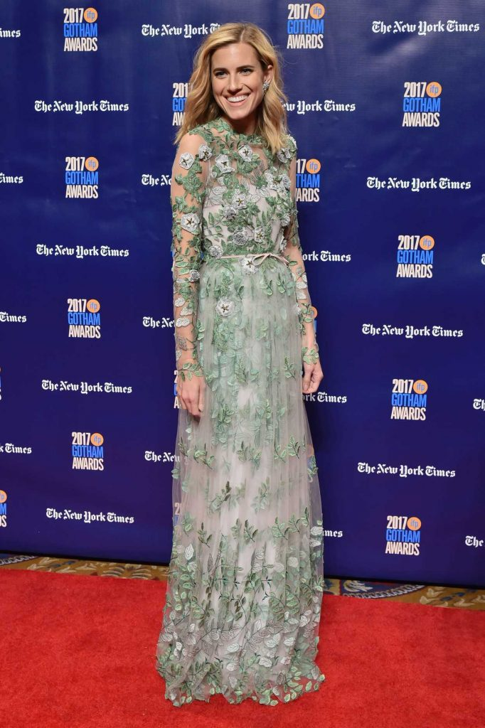 Allison Williams at the 27th Annual Gotham Independent Film Awards in New York City 11/27/2017-2