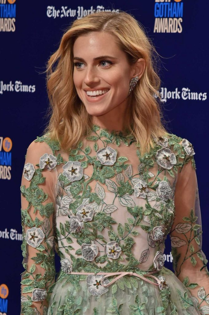 Allison Williams at the 27th Annual Gotham Independent Film Awards in New York City 11/27/2017-5