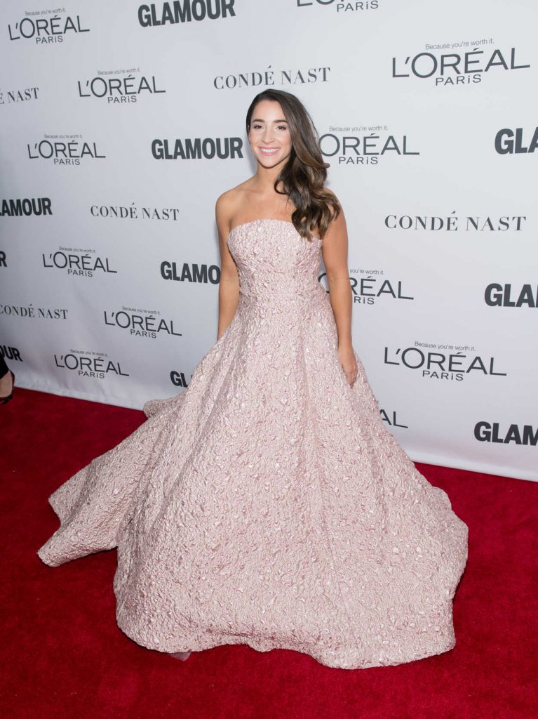 Aly Raisman at 2017 Glamour Women of the Year Awards in NYC 11/13/2017-2