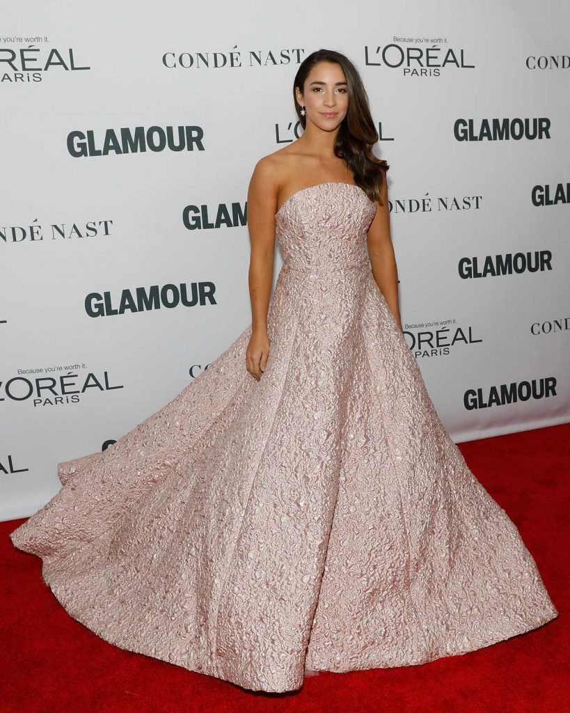 Aly Raisman at 2017 Glamour Women of the Year Awards in NYC 11/13/2017-3