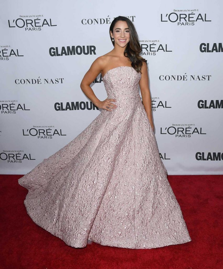 Aly Raisman at 2017 Glamour Women of the Year Awards in NYC 11/13/2017-4