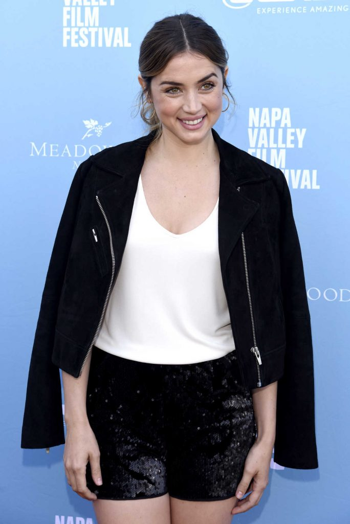 Ana de Armas at the Rising Star Showcase During 7th Annual Napa Valley Film Festival 11/11/2017-3
