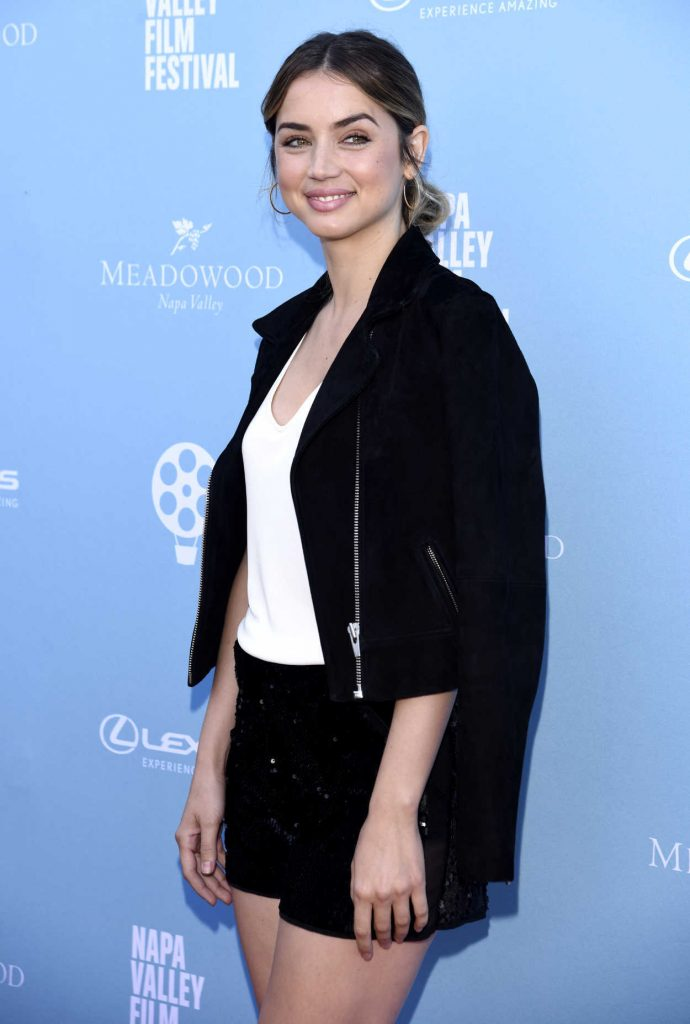 Ana de Armas at the Rising Star Showcase During 7th Annual Napa Valley Film Festival 11/11/2017-4