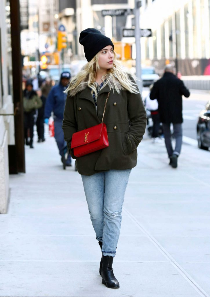 Ashley Benson Was Seen Out in NYC 11/13/2017-1