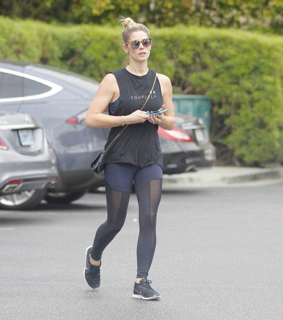 Ashley Greene Goes Shopping at Bristol Farms in West Hollywood 11/02/2017-1