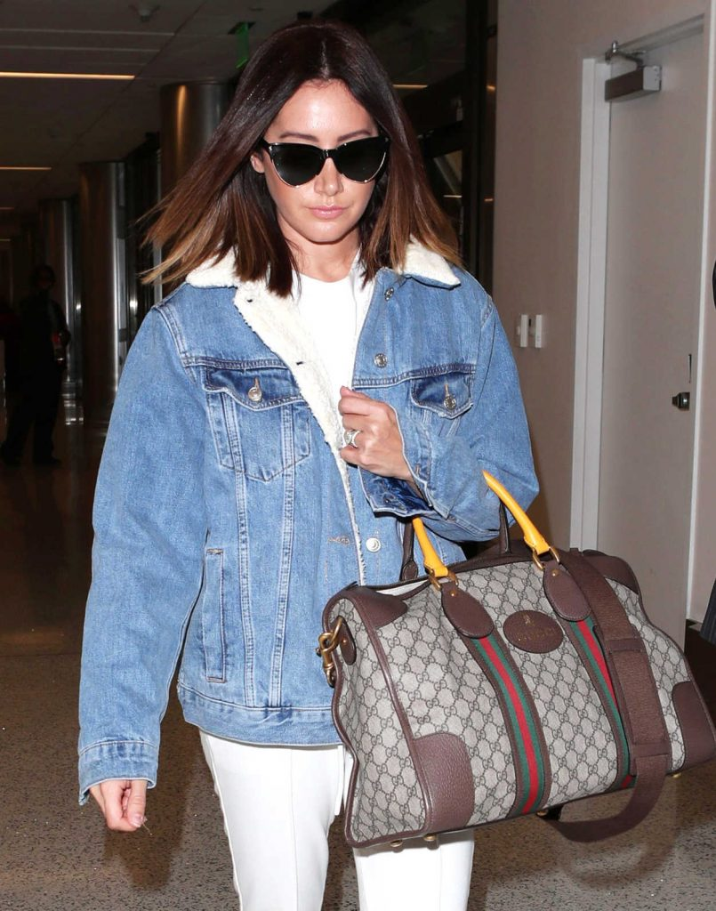 Ashley Tisdale Was Spotted at LAX Airport in LA 11/17/2017-5