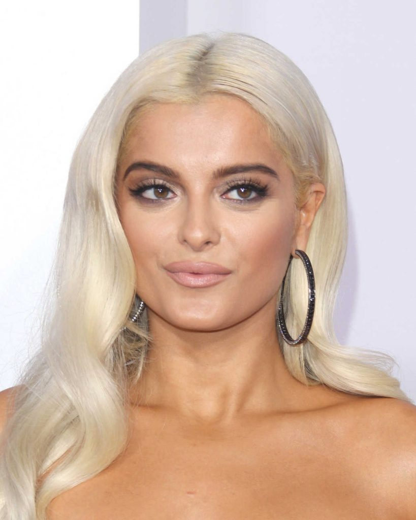 Bebe Rexha at 2017 American Music Awards at the Microsoft Theater in Los Angeles 11/19/2017-4