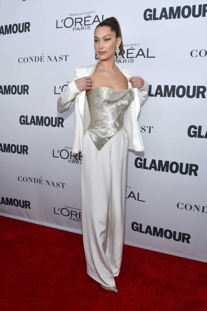 Bella Hadid at 2017 Glamour Women of the Year Awards in NYC 11/13/2017-2