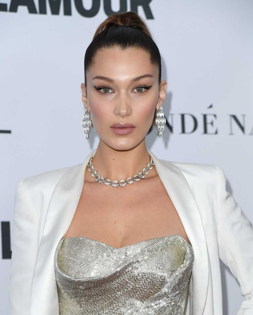 Bella Hadid at 2017 Glamour Women of the Year Awards in NYC 11/13/2017-5