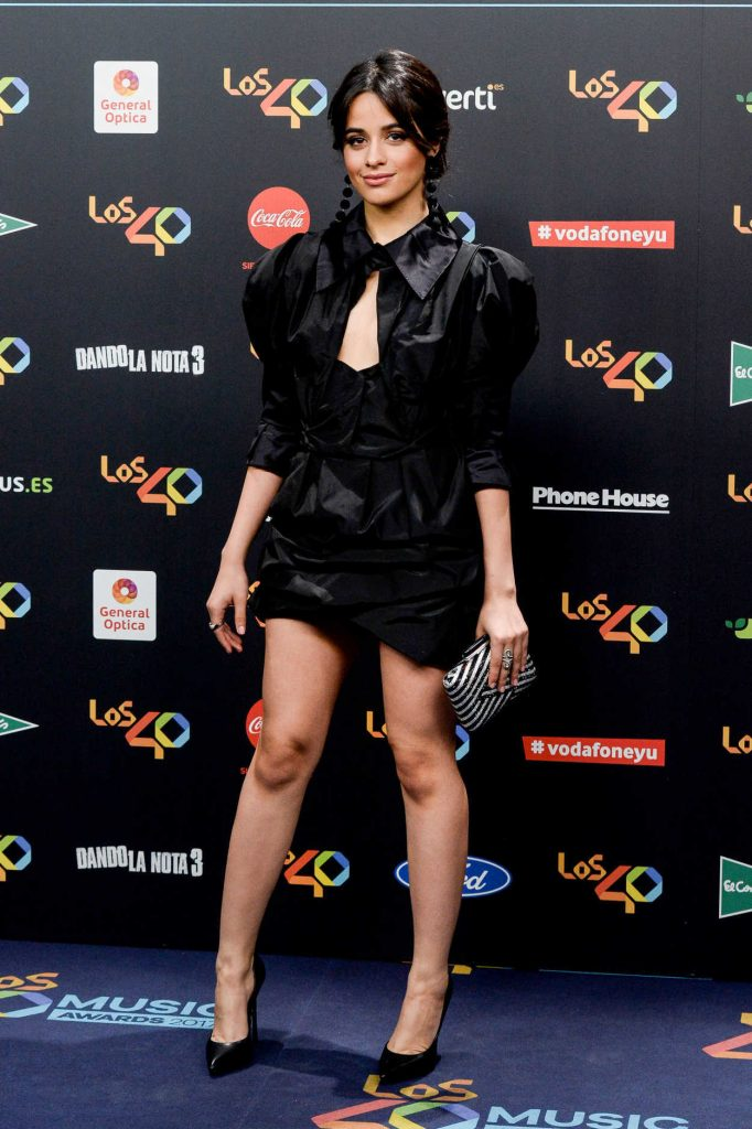 Camila Cabello at Los 40 Music Awards at WiZink Center in Madrid 11/10/2017-2