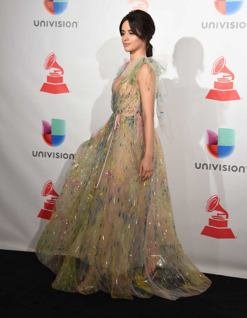 Camila Cabello at the 18th Annual Latin Grammy Awards in Las Vegas 11/16/2017-2