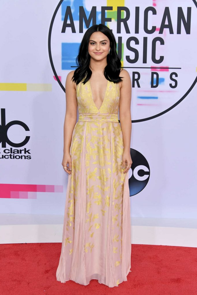 Camila Mendes at 2017 American Music Awards at the Microsoft Theater in Los Angeles 11/19/2017-1