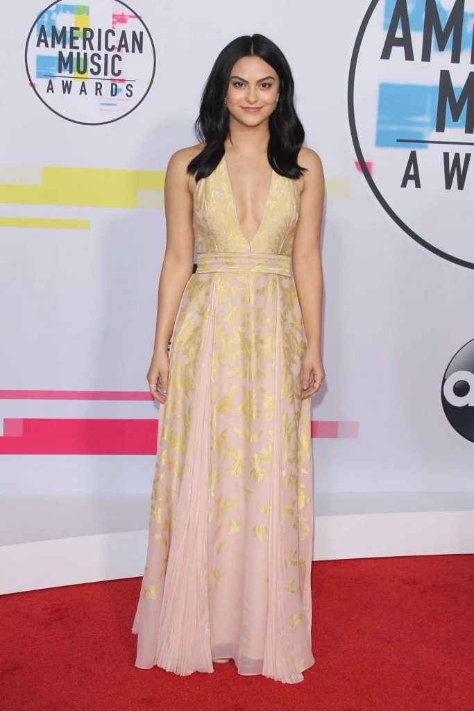 Camila Mendes at 2017 American Music Awards at the Microsoft Theater in Los Angeles 11/19/2017-2