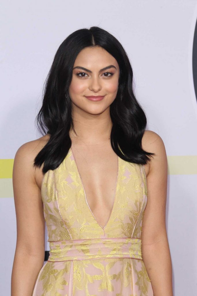 Camila Mendes at 2017 American Music Awards at the Microsoft Theater in Los Angeles 11/19/2017-3