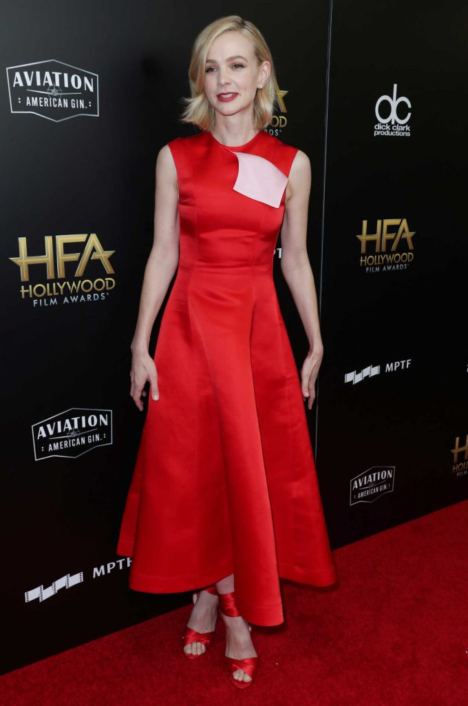 Carey Mulligan at the 21st Annual Hollywood Film Awards in Los Angeles 11/05/2017-1