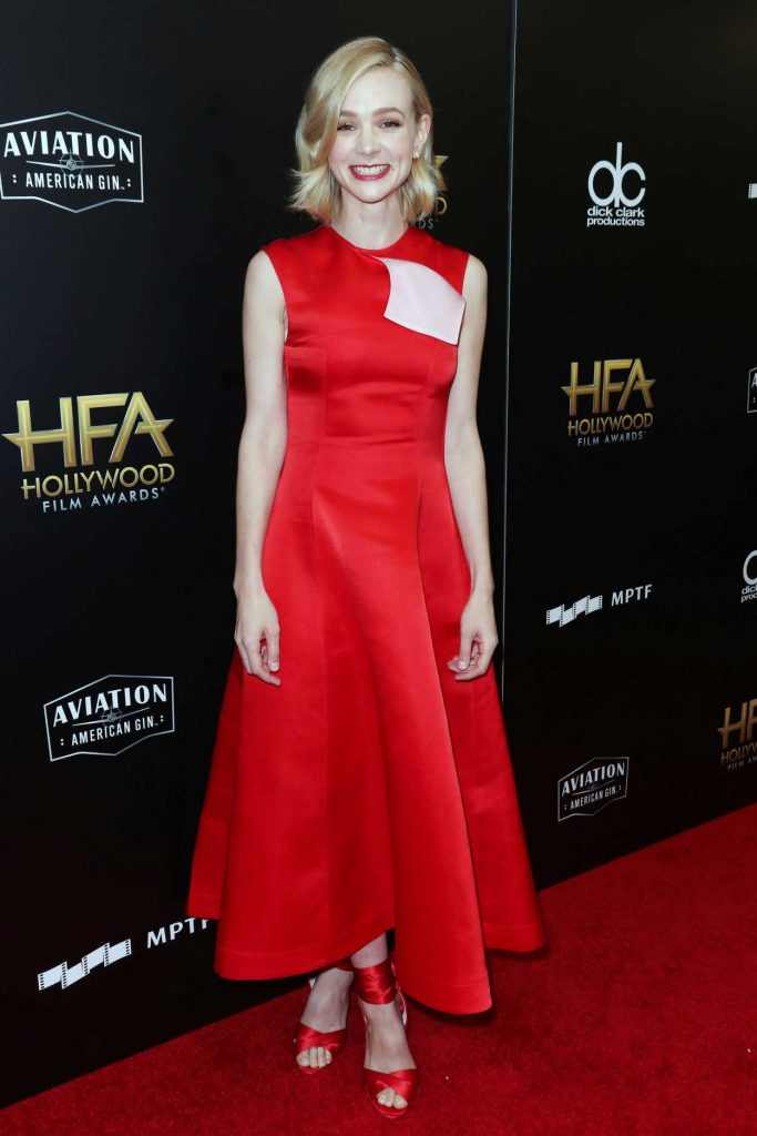 Carey Mulligan at the 21st Annual Hollywood Film Awards in Los Angeles 11/05/2017-2