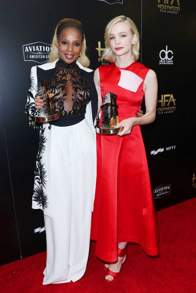 Carey Mulligan at the 21st Annual Hollywood Film Awards in Los Angeles 11/05/2017-3