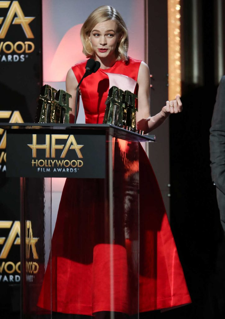 Carey Mulligan at the 21st Annual Hollywood Film Awards in Los Angeles 11/05/2017-4