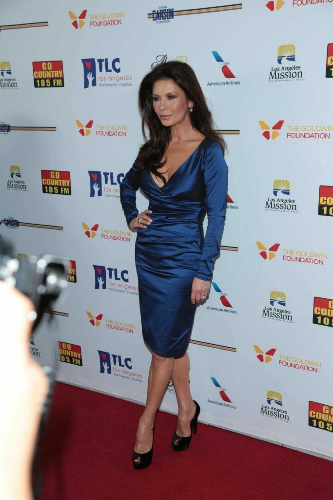 Catherine Zeta-Jones at the 7th Annual Los Angeles Mission's Legacy of Vision Gala in Los Angeles 11/09/2017-1
