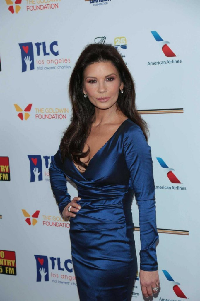 Catherine Zeta-Jones at the 7th Annual Los Angeles Mission's Legacy of Vision Gala in Los Angeles 11/09/2017-2