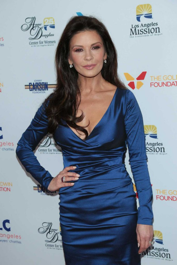 Catherine Zeta-Jones at the 7th Annual Los Angeles Mission's Legacy of Vision Gala in Los Angeles 11/09/2017-3