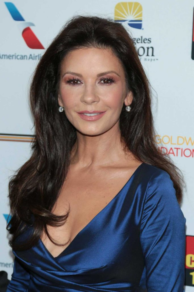 Catherine Zeta-Jones at the 7th Annual Los Angeles Mission's Legacy of Vision Gala in Los Angeles 11/09/2017-4