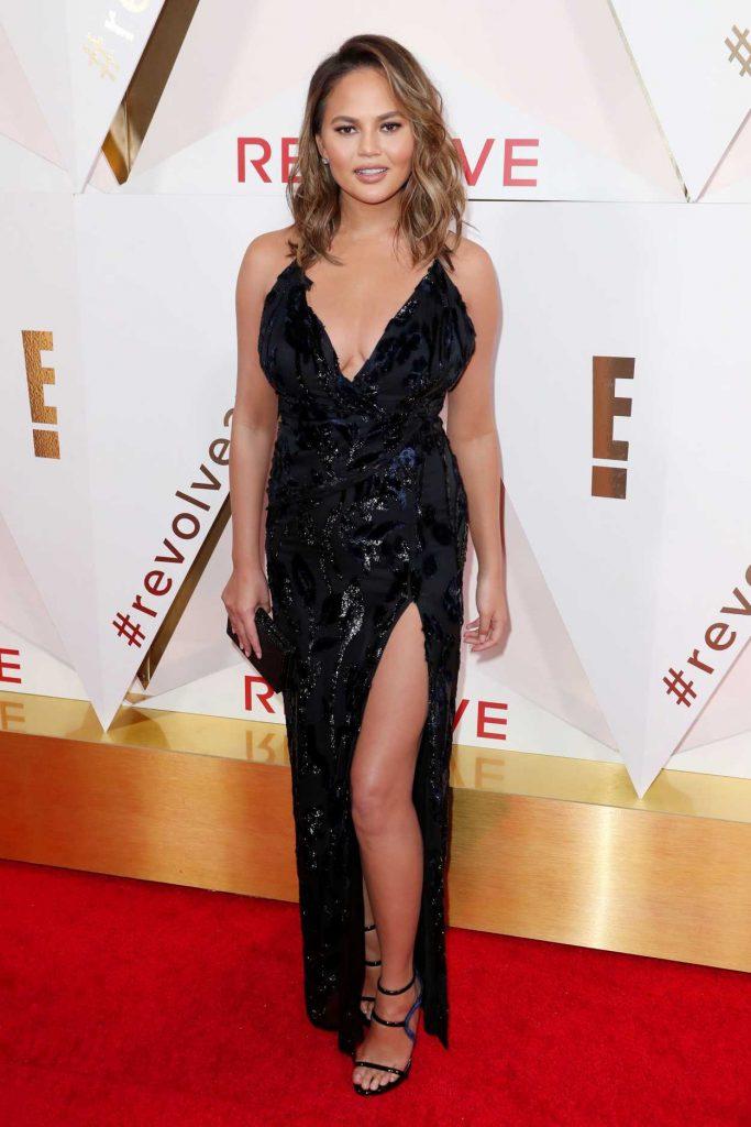 Chrissy Teigen at REVOLVE Awards in Los Angeles 11/02/2017-1