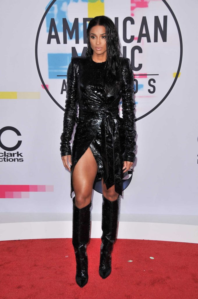 Ciara at 2017 American Music Awards at the Microsoft Theater in Los Angeles 11/19/2017-1