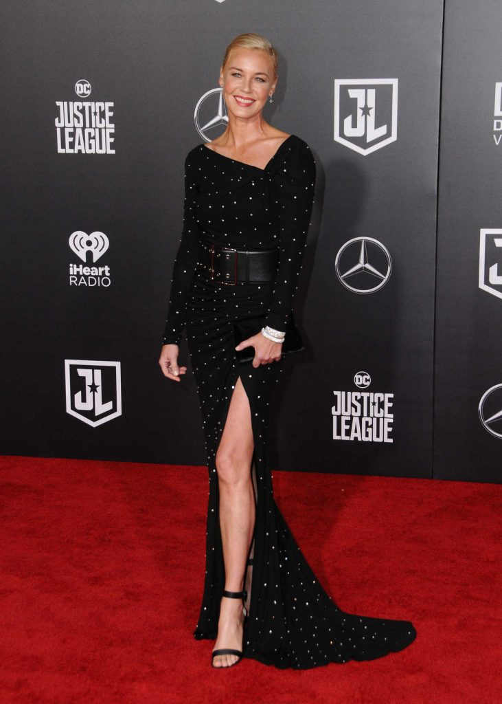 Connie Nielsen at the Justice League World Premiere at The Dolby Theatre in Los Angeles 11/13/2017-1