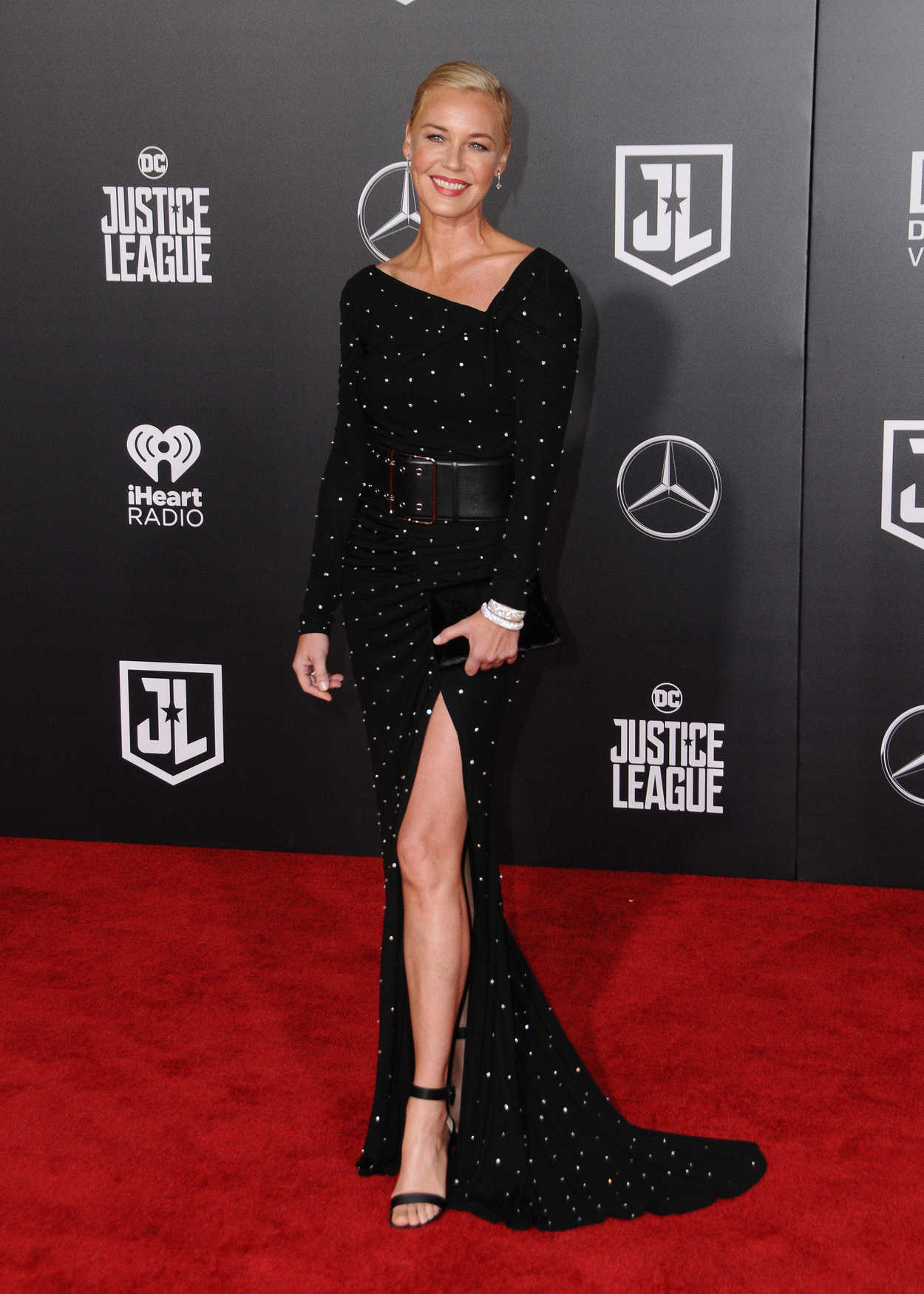 Connie Nielsen at the Justice League World Premiere at The ...