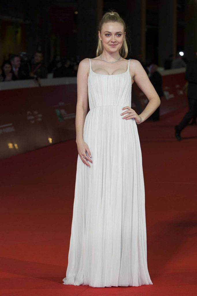 Dakota Fanning at the Please Stand By Premiere During the 12th Rome Film Festival in Rome 10/31/2017-1