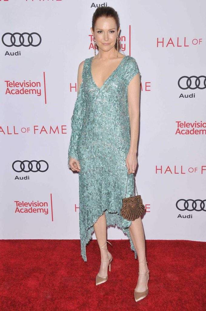 Darby Stanchfield at Television Academy's 24th Hall of Fame Ceremony in North Hollywood 11/15/2017-1