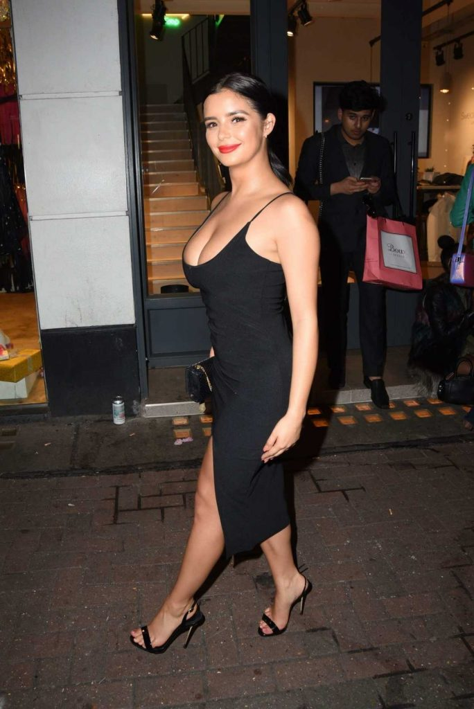 Demi Rose Arrives at the Nasty Girl Launch in London 11/01/2017-1