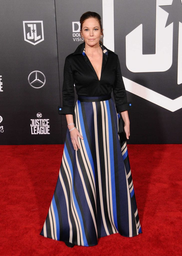 Diane Lane at the Justice League World Premiere at The Dolby Theatre in Los Angeles 11/13/2017-1
