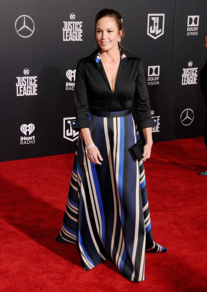 Diane Lane at the Justice League World Premiere at The Dolby Theatre in Los Angeles 11/13/2017-2