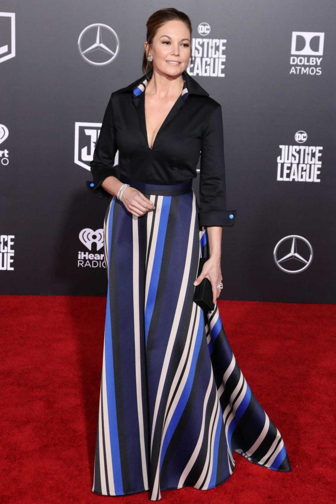 Diane Lane at the Justice League World Premiere at The Dolby Theatre in Los Angeles 11/13/2017-3