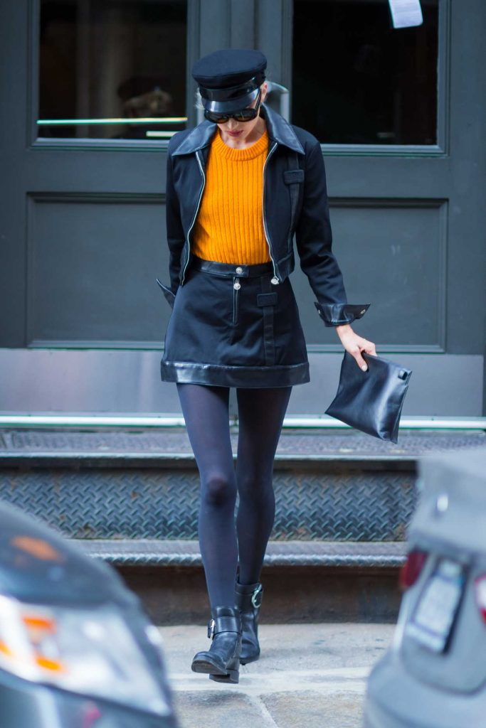 Elsa Hosk Was Seen Out in NYC 10/31/2017-5