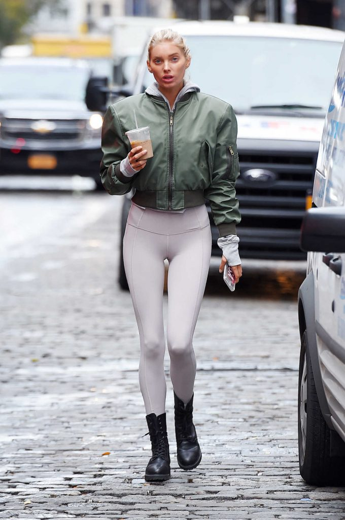 Elsa Hosk Was Seen Out in NYC 11/16/2017-2