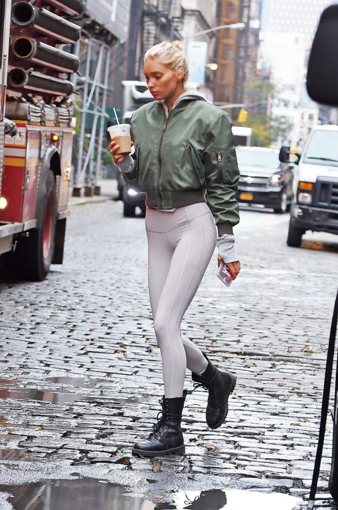 Elsa Hosk Was Seen Out in NYC 11/16/2017-3