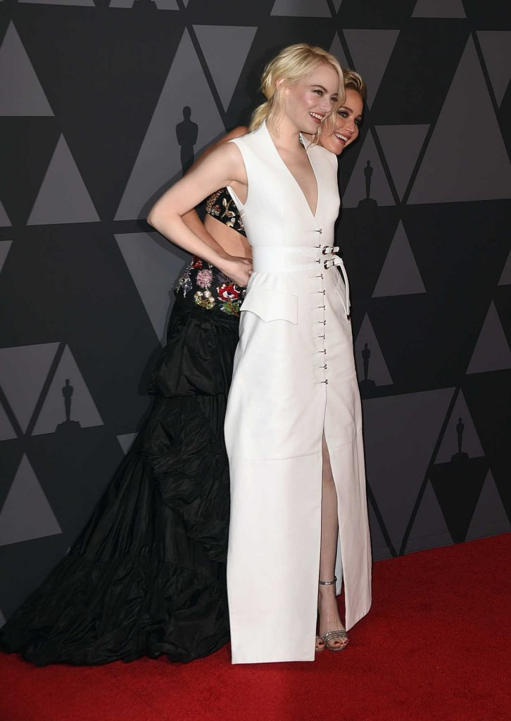 Emma Stone at Academy of Motion Picture Arts and Sciences 9th Annual Governors Awards in Hollywood 11/11/2017-4