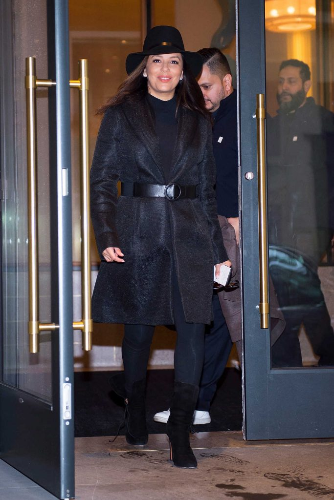 Eva Longoria Was Seen in Midtown South in NYC 11/24/2017-1
