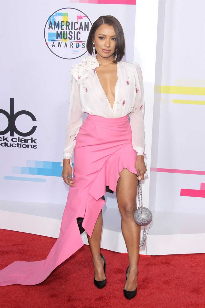 Kat Graham at 2017 American Music Awards at the Microsoft Theater in Los Angeles 11/19/2017-1