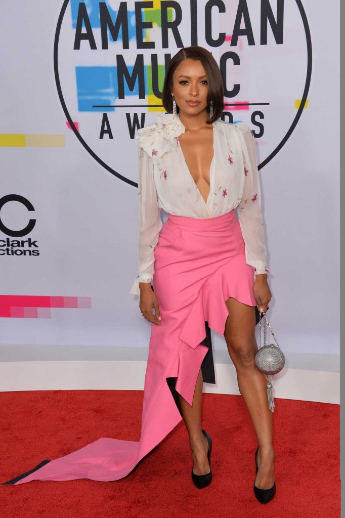 Kat Graham at 2017 American Music Awards at the Microsoft Theater in Los Angeles 11/19/2017-2