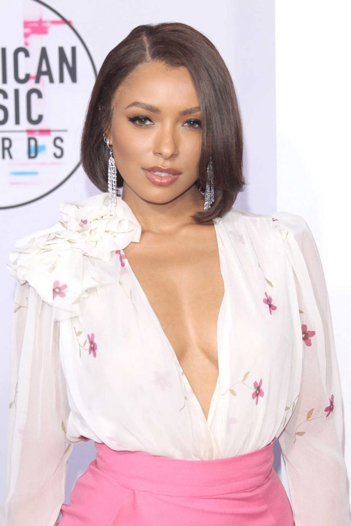 Kat Graham at 2017 American Music Awards at the Microsoft Theater in Los Angeles 11/19/2017-3