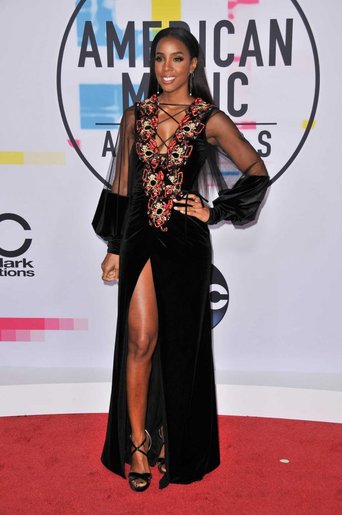 Kelly Rowland at 2017 American Music Awards at the Microsoft Theater in Los Angeles 11/19/2017-1