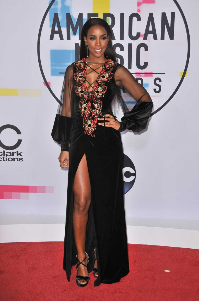 Kelly Rowland at 2017 American Music Awards at the Microsoft Theater in Los Angeles 11/19/2017-2