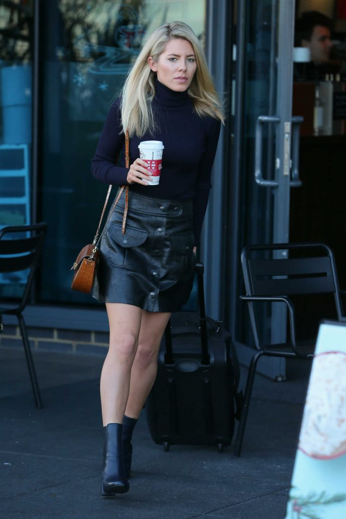 Mollie King Was Seen Out in London 11/25/2017-1