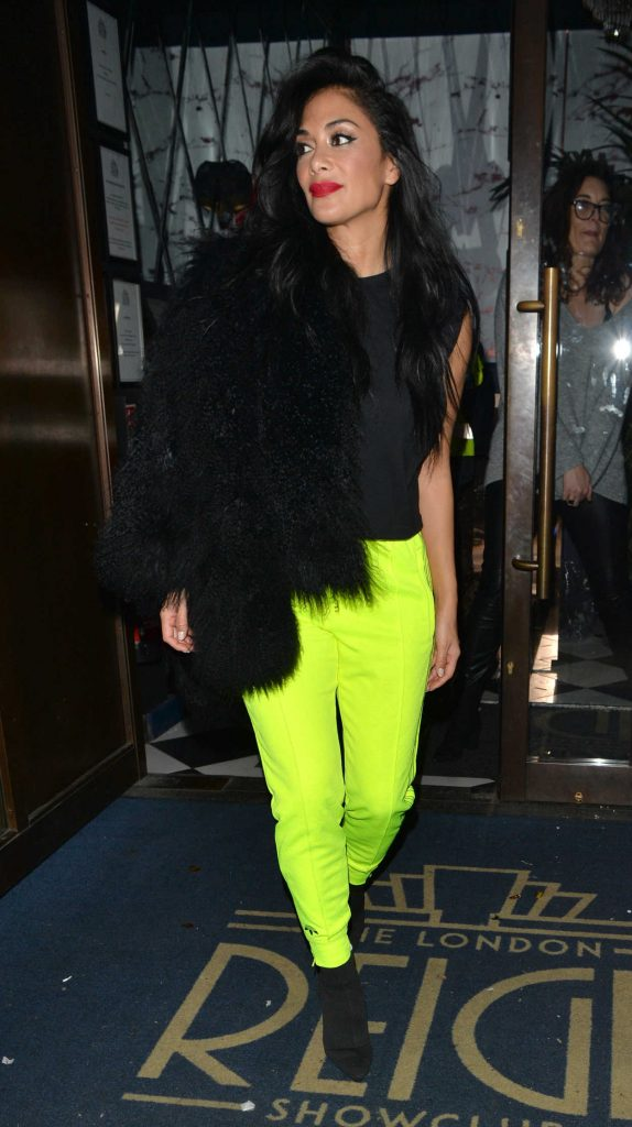Nicole Scherzinger Visits Reign Night Club in London 11/25/2017-4